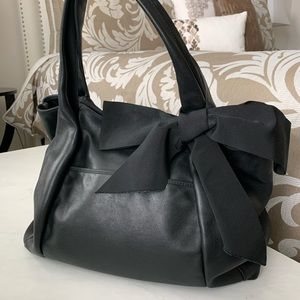 Ann Taylor Tote with Bow